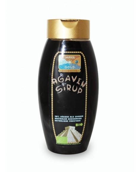 SYROP Z AGAWY CIEMNY BIO 350 g(250 ml) -MAYA GOLD